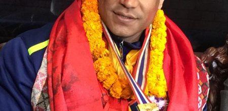 राज्यले नचिनेको प्रतिभा, बडीबिल्डिङका स्वर्ण विजेता महेश्वर महर्जनलाई नागरिक अभिनन्दन