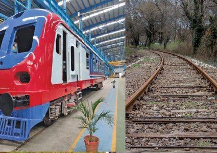 भारत–नेपाल रेल सेवा सम्झौता २००४ आदानप्रदान पत्रमा हस्ताक्षर
