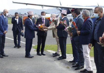पोखरा पुगेर ११ जना राजदूतले दिए नेपाल पर्यटनका लागि खुला…