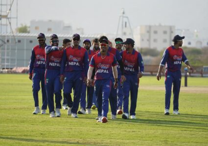 आईसीसी विश्व कप क्रिकेट लिग–२ : ओमान नेपालसँग ७ विकेटले…