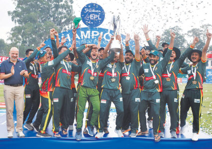 ईपीएल क्रिकेटको उपाधि चितवन टाइगर्सलाई, पोखरा पराजित